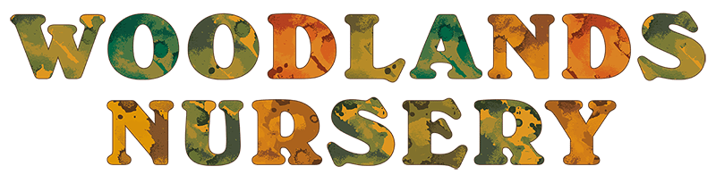 Woodlands Nursery Wordmark Stacked 800px